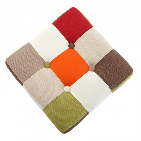 TABURETE CUBO RED PATCHWORK