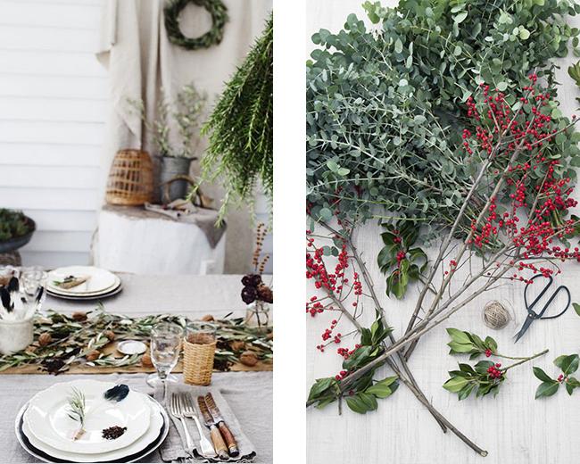 Idee per decorazioni natalizie - Decorazioni rami secchi ...