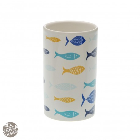 VASO CEPILLOS BLUE BAY