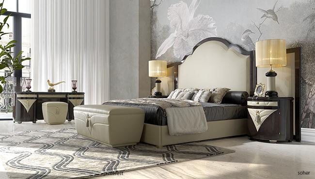 Camere Da Letto Art Deco : Stile art deco versa home