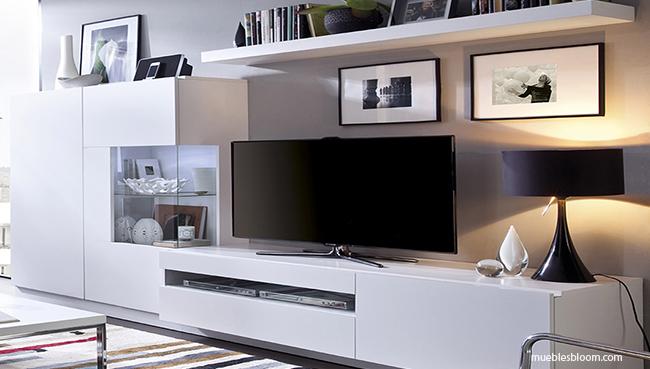 iluminación zona televisión